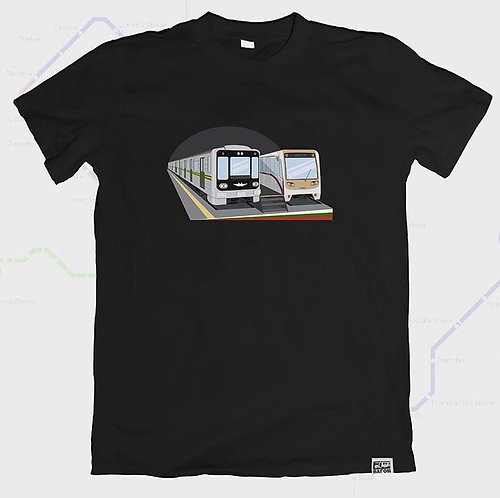 Wagon T-shirt Sofia 2 Metros