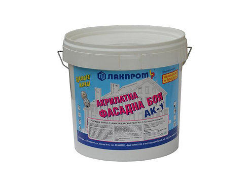 Lakprom Acrylic Facade Paint White