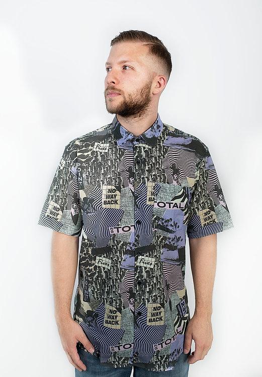 Shirtwise Men Shirt Surfin' Bird