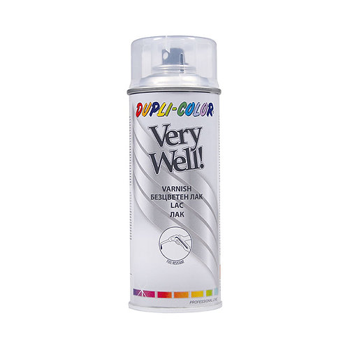 Dupli-color Very Well Varnish Spray Glossy