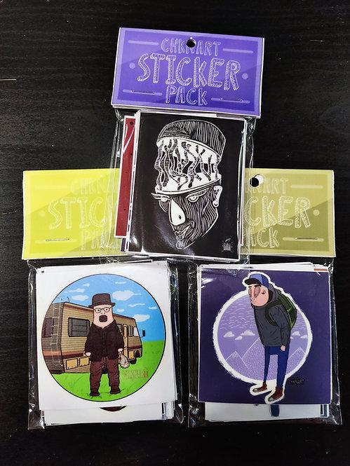 CHKNART Sticker Pack