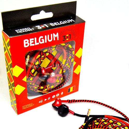 Fusion Embassy Stereo Headset - Belgium