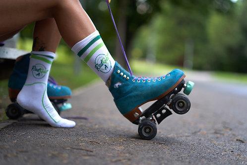 RadGal - Short Green Socks