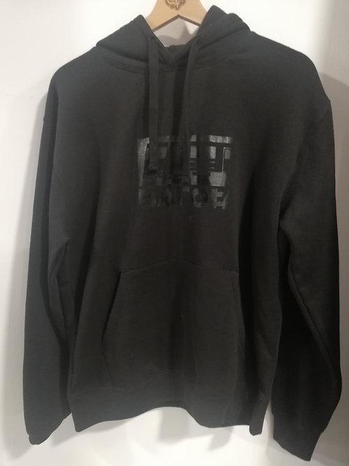 Wagon Hoodie Logo Black