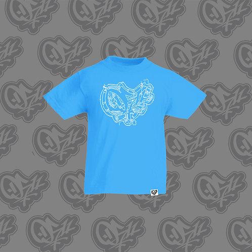 0511 Kids T-shirt Trash Blue