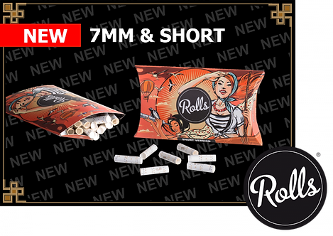 ROLLS69 Filters 50 Pack Shorties 7mm