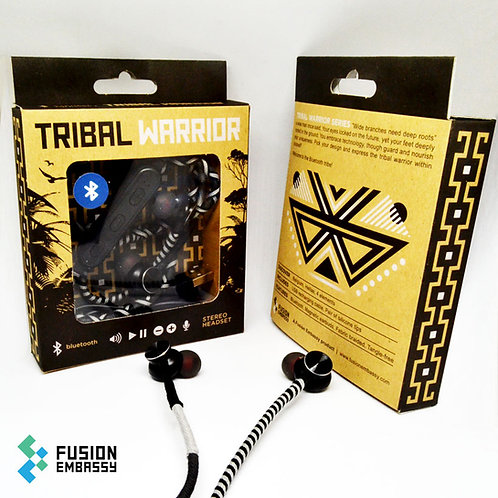 FUSION EMBASSY Tribal warrior – black/grey