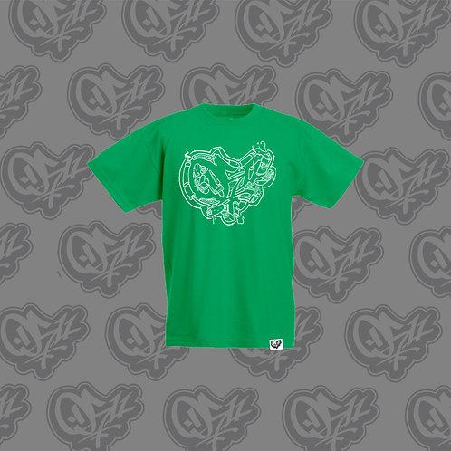 0511 Kids T-shirt Trash Green