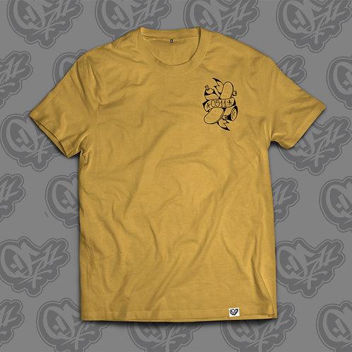 0511 Man T-shirt Skate Rat Ochre