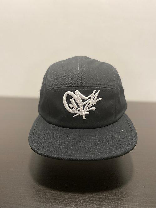 0511  5-Panel Hat Black
