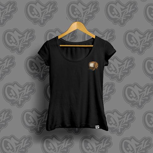 0511 x Divo Pivo Woman T-shirt Black