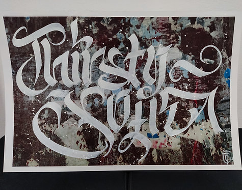 Calligracity - Thirsty Sofia