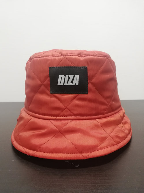 DIZA NYLON RED BUCKET