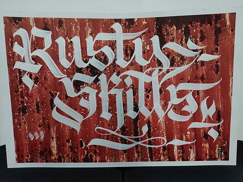 Calligracity - Rusty Skills