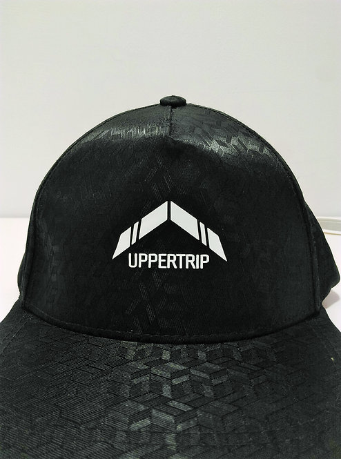 Uppertrip Original Flat Cap Black Velvet