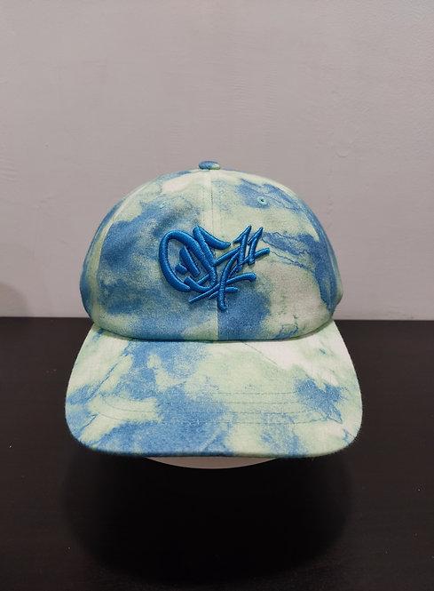 0511 Tie-Dye Hat Blue-Green