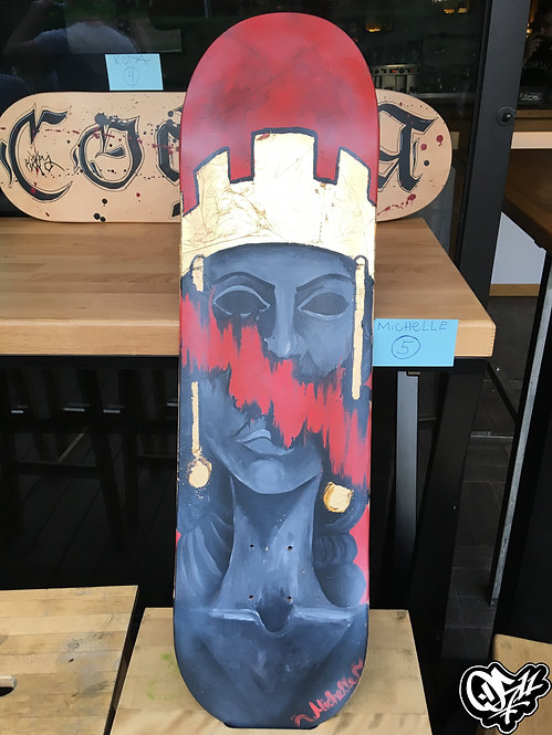"Skate Deck ""Queen Sofia"""