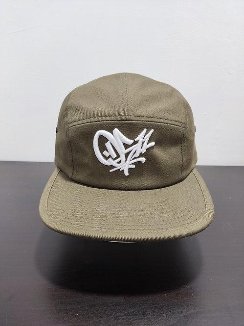 0511  5-Panel Hat Olive