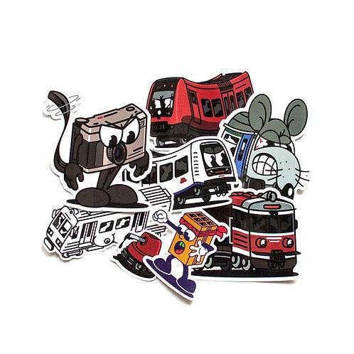 VOH Sticker Set II