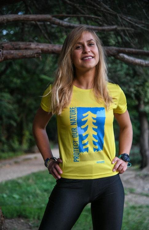 Resume Woman T-shirt Tree