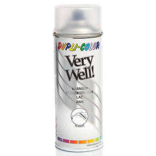 Dupli-color Very Well Varnish Spray Matt