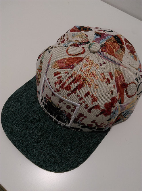 Uppertrip Hofmann Flat Cap Abstract Colors