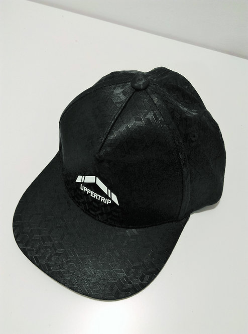 Uppertrip Original Flat Cap Black Velvet