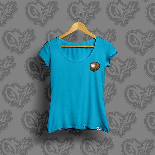 0511 x Divo Pivo Woman T-shirt Blue