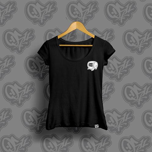 0511 x Divo Pivo Woman T-shirt Black & White