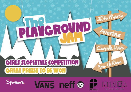 Playground Jam Flyer