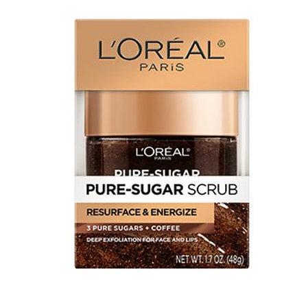 L'Oreal Paris Resurface & Energize Kona Coffee Scrub