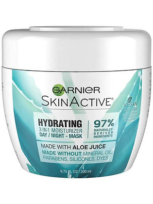 Hydrating 3-in-1 Face Moisturizer with Aloe
