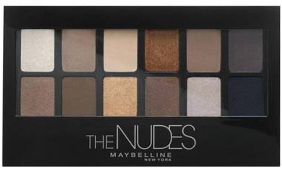 The Nudes Eyeshadow Palette