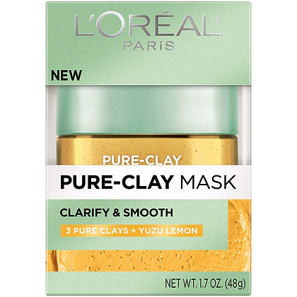 L'Oreal Skin Expert Pure Clay Clarify & Smooth Mask
