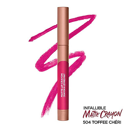 Infallible Matte Lip Crayon