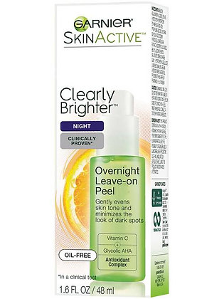 Clearly Brighter Overnight Leave-On Peel