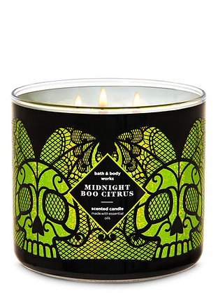 Midnight Boo Citrus 3-Wick Candle