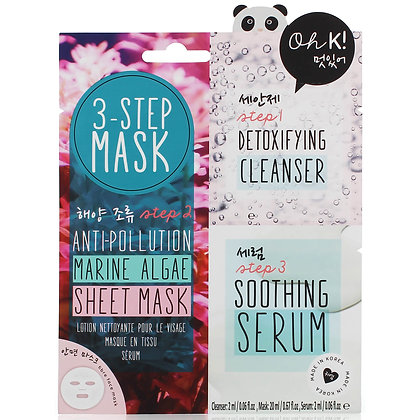 Oh K! 3-Step Anti-Pollution Mask