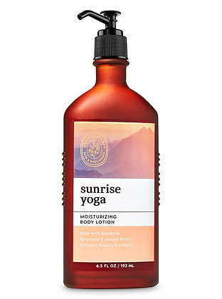 Aromatherapy Sunrise Yoga Body Lotion