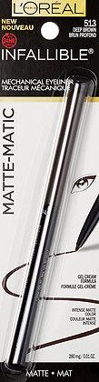 Infallible Matte-Matic Mechanical Eyeliner Deep Brown