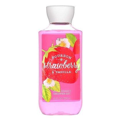 Strawberry & Vanilla Shower Grel
