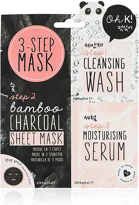 Oh K! Charcoal Face Mask Sheet