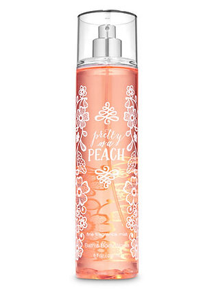 Pretty As Peach Fine Fragrance Mist