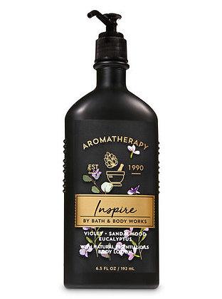 Aromatherapy Violet Sandalwood Eucalyptus Body Lotion