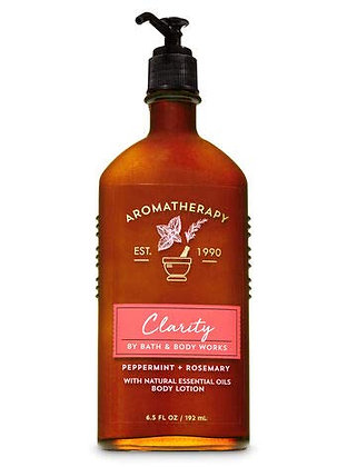 Aromatherapy Clarity Body Lotion