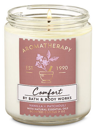 Comfort Single Wick Candle