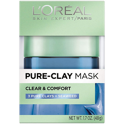 L'Oreal Skin Expert Pure Clay Clear & Comfort Mask