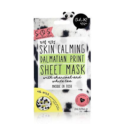 Oh K! Calming Dalmatian Print Mask