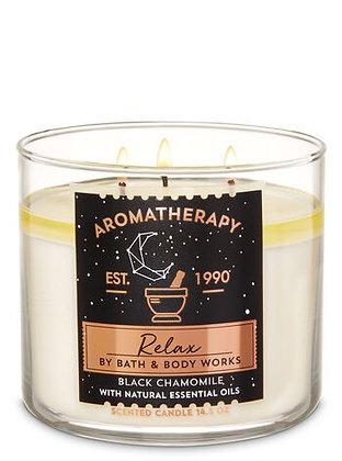 Black Chamomile 3-Wick Candle