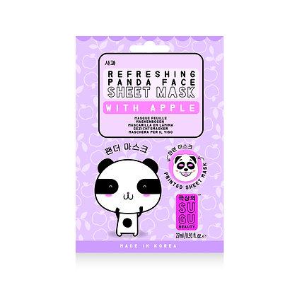 SUGU Refreshing Panda Face Sheet Mask with Apple